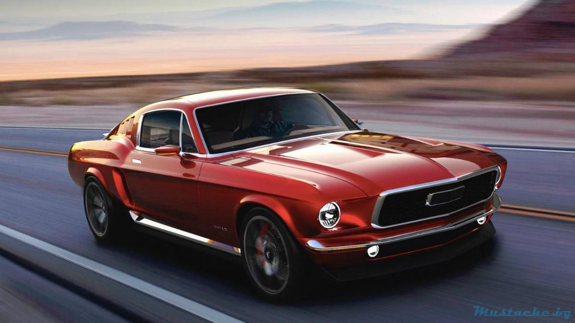 Руска компания пусна Mustang от 1967 г. на ток