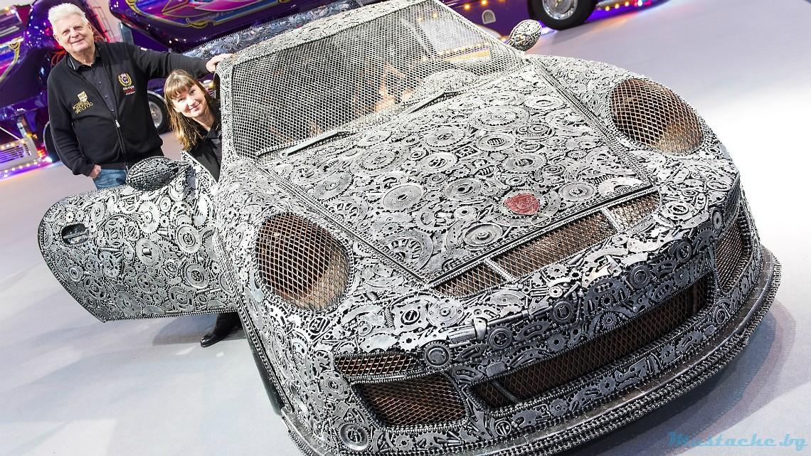 Да си сглобиш Porsche от... скрап