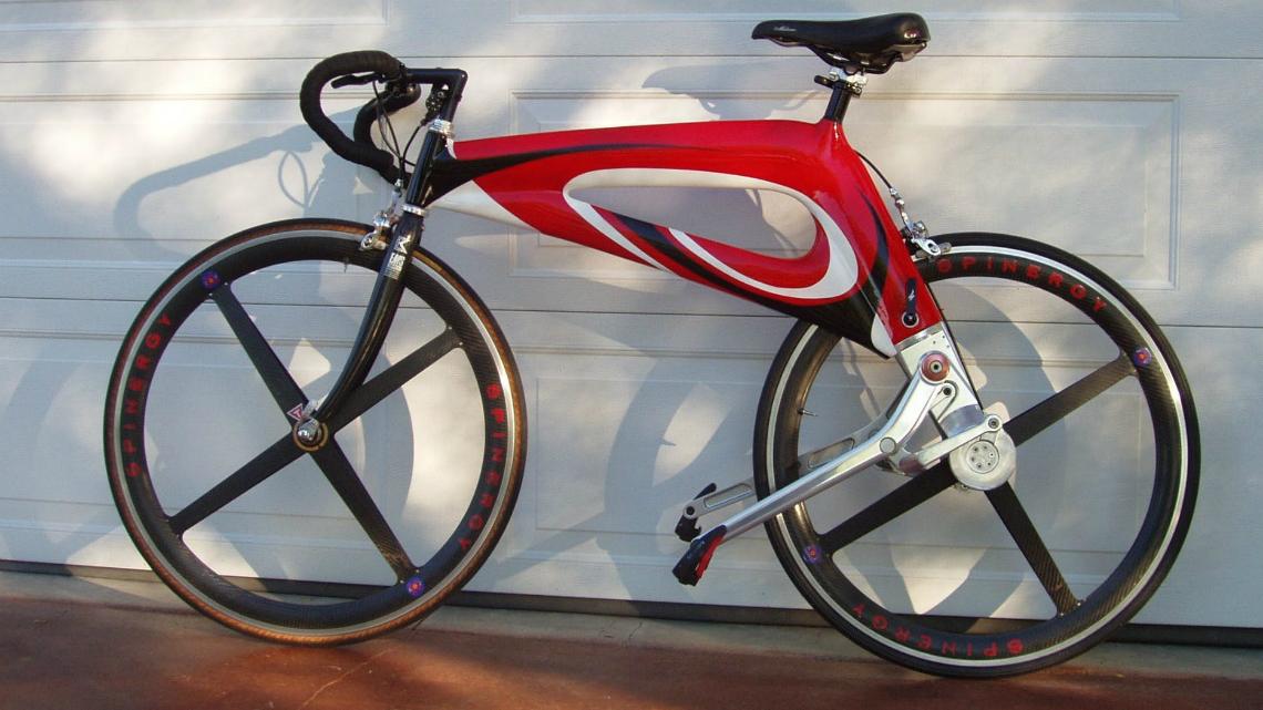 Американец създаде велосипед, задвижван с лостове