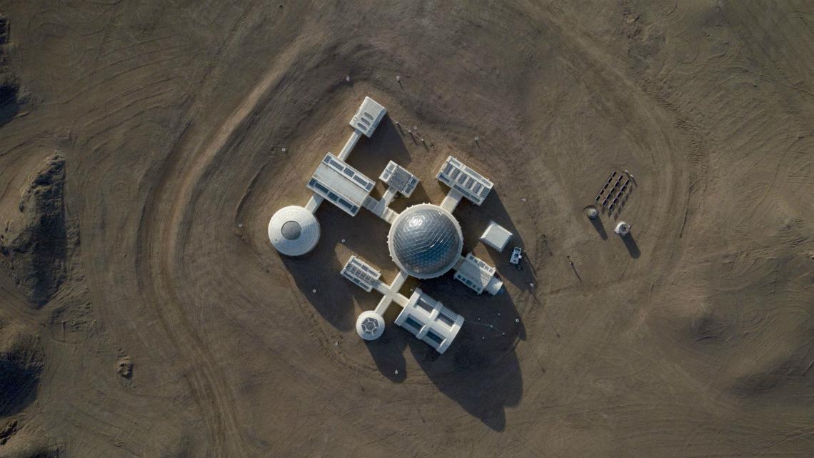 Китайска компания построи марсиански комплекс в пустинята Гоби