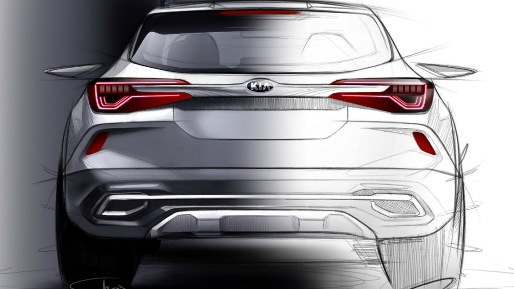 Kia представи скици на чисто новия си SUV модел