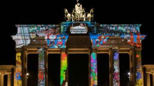 Българи преобразяват Берлин с 3D мапинг спектакли и светлинни инсталации