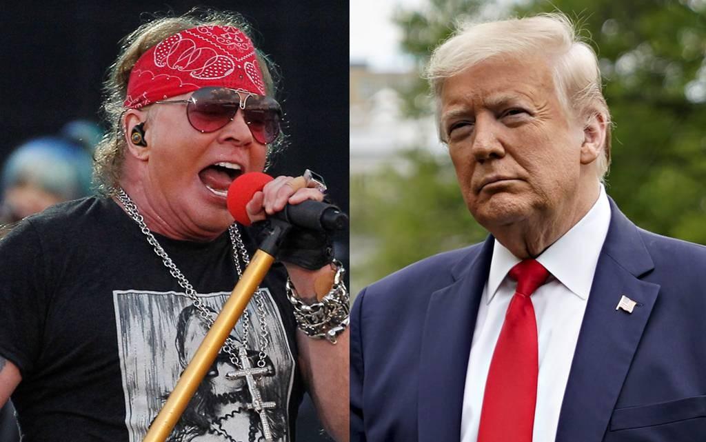 Guns N' Roses срещу Доналд Тръмп