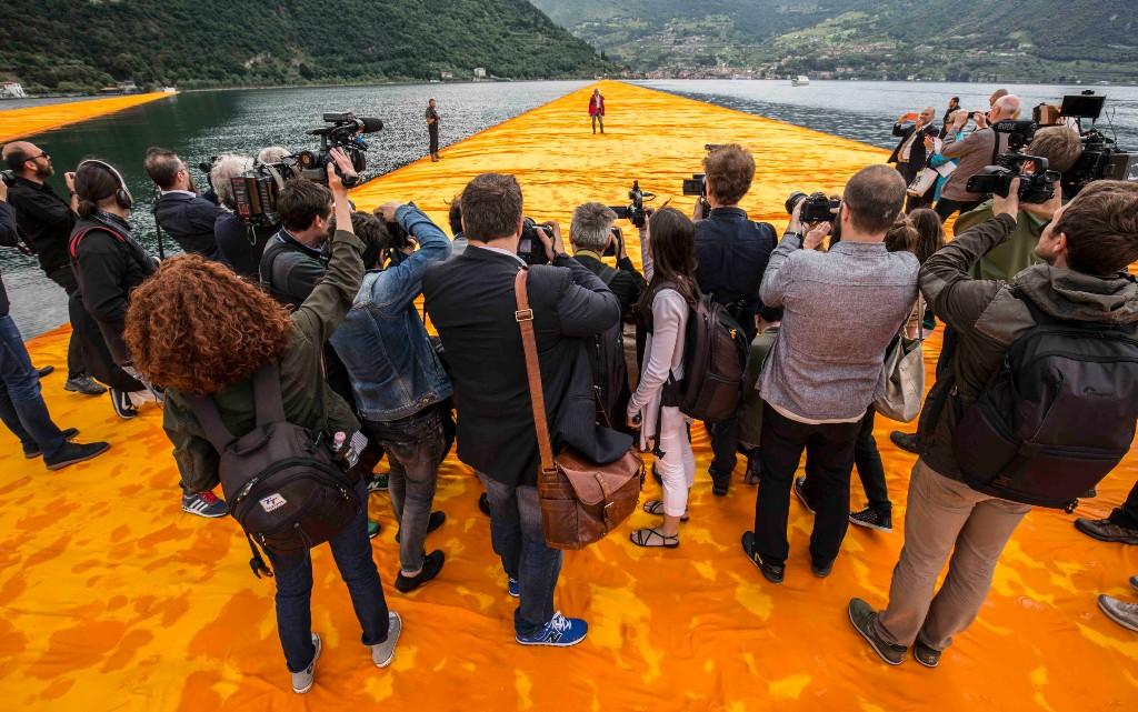 """Филмът за Кристо """"Да ходиш по вода"""" вече е достъпен онлайн"""