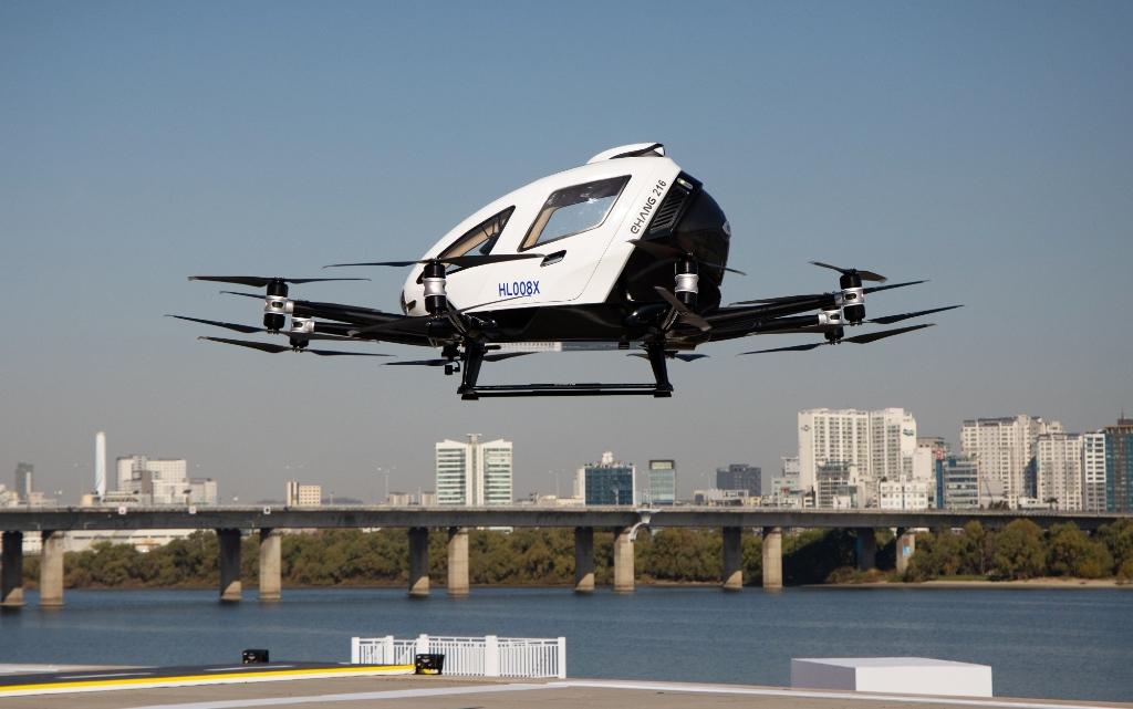 безпилотни летящи таксита