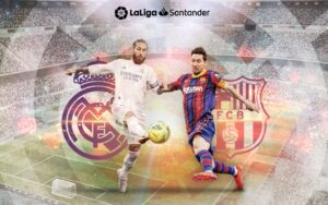 Ел Класико между Реал Мадрид и Барса