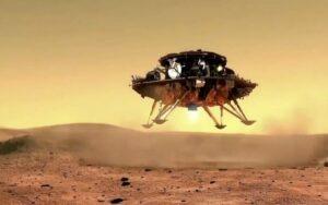 И Китай кацна на Марс
