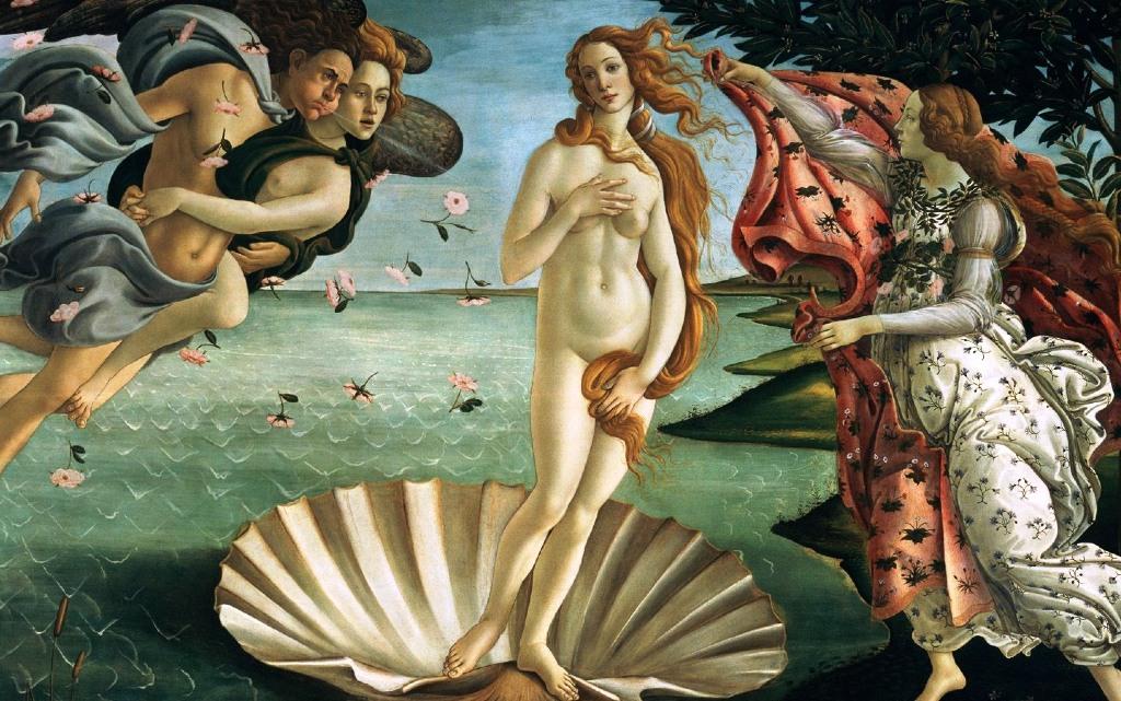 """Венера"" на Ботичели"