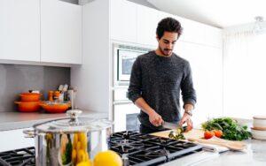 Мъжете и кулинарията
